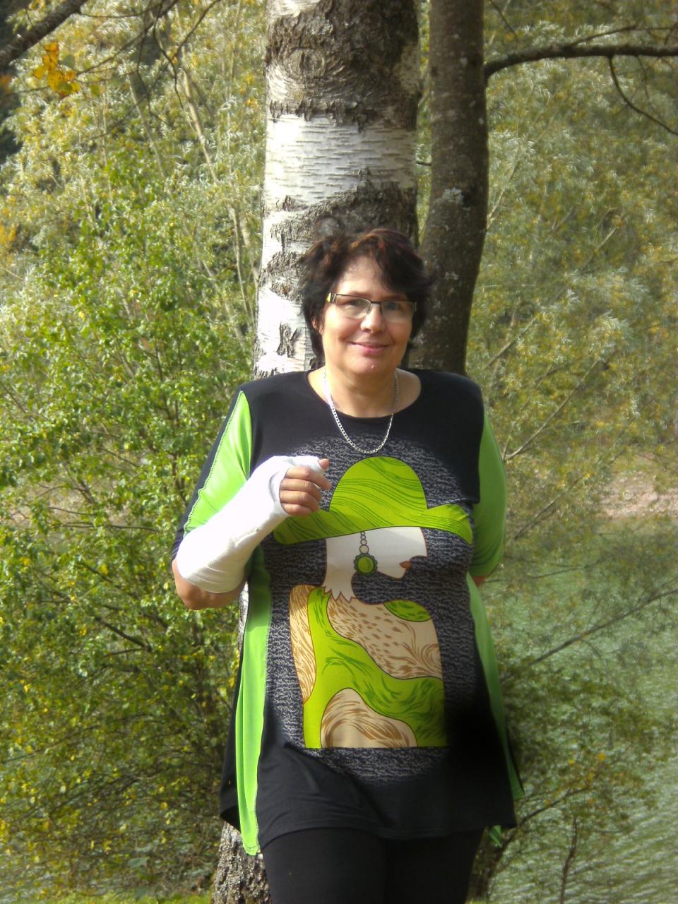 """mein neues shirt in """"L"""" :-D an der erzgrube"""