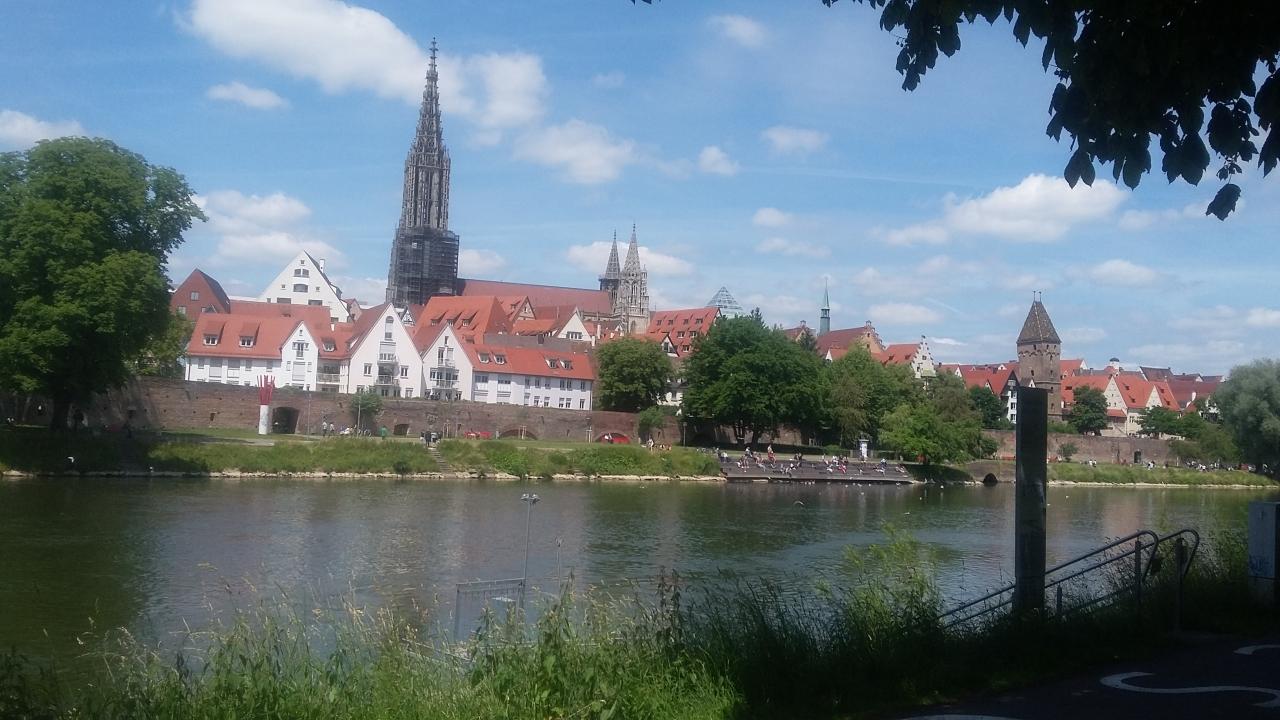 kleiner Spaziergang an der Donau lang