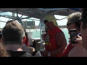 Hulk Hogan beim Super Boat Race