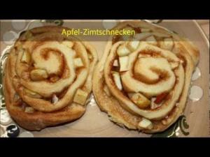 Apfel-Zimtschnecken  *** Klimasch backt ***